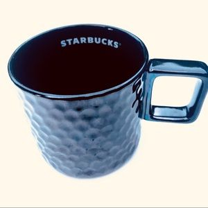 NEW Starbucks Coffee Mirrored Black Cup Mug
